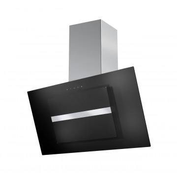 Vestavné spotřebiče - Faber NORTHIA EV8 BK/X A90  - komínový odsavač, černá / černé sklo, šířka 90cm