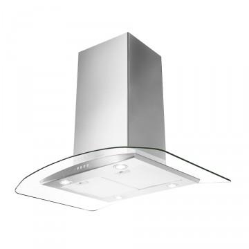 Vestavné spotřebiče - Faber TRATTO ISOLA SP EV8 X/V A90  - ostrůvkový odsavač, nerez / sklo, šířka 90cm