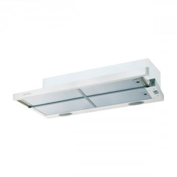 Vestavné spotřebiče - Faber Flexa HIP W/X A90  - výsuvný odsavač, bílá / lišta nerez, šířka 90cm