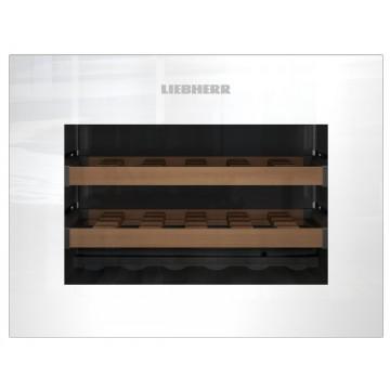 Vestavné spotřebiče - Liebherr WKEgw 582 vestavná kompaktní klimatizovaná vinotéka, bezúchytková, bílá