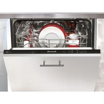 Vestavné spotřebiče - Myčka Brandt VH1544J Plně vestavná myčka nádobí, 60 cm, A++, 4 roky záruka