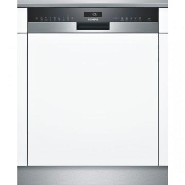 Vestavné spotřebiče - Siemens SN558S02ME vestavná myčka nádobí s panelem nerez/černá, 60 cm