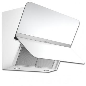Vestavné spotřebiče - Falmec FLIPPER DESIGN Wall - nástěnný odsavač, 55 cm, 800 m3, bílé matné sklo