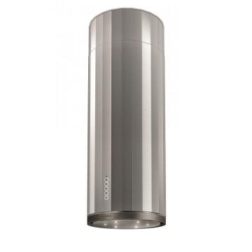 Vestavné spotřebiče - Faber CORINTHIA ISOLA X/OM A37  - ostrůvkový odsavač, nerez / patinovaný kov, šířka 37cm