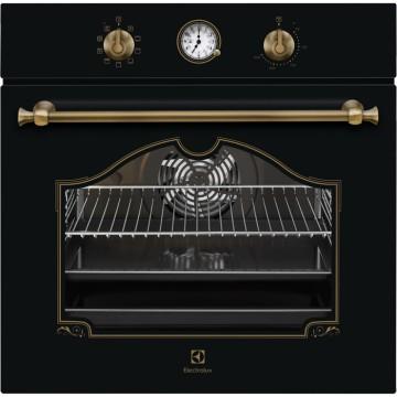 Vestavné spotřebiče - Electrolux EOA5220AOR 600 FLEX SurroundCook vestavná trouba, černá/mosaz Rococo , A