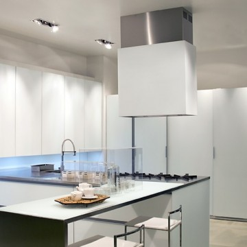 Vestavné spotřebiče - Falmec LAGUNA DESIGN Island - ostrůvkový odsavač, šířka 90 cm, bílá, 800 m3/h