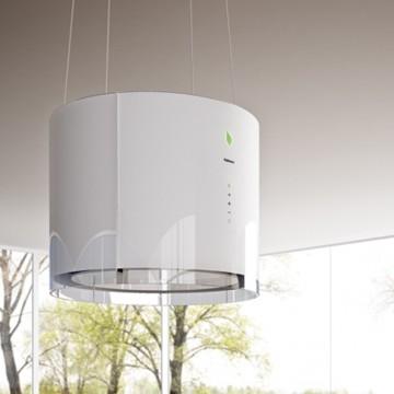 Vestavné spotřebiče - Falmec EOLO E-ION Island - ostrůvkový odsavač, 45 cm, bílý, 450 m3