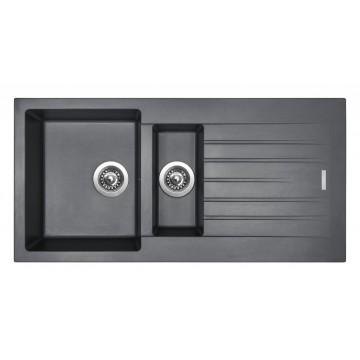 Kuchyňské dřezy - Sinks PERFECTO 1000.1 Titanium