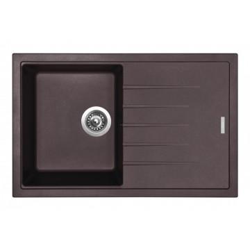 Zvýhodněné sestavy spotřebičů - Set Sinks BEST 780 Marone+CAPRI 4 GR