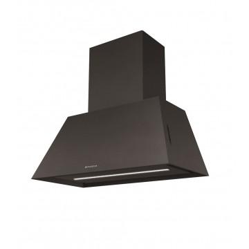 Vestavné spotřebiče - Faber CHLOE EV8 CI A70  - rustikální komínový odsavač, černá mat, šířka 70cm