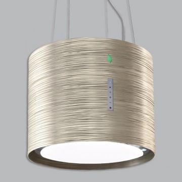 Vestavné spotřebiče - Falmec TWISTER E-ION ostrůvkový 45 cm titan 450m3/h