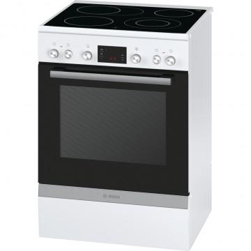 Volně stojící spotřebiče - Bosch HCA744320 volněstojící sporák, 60 cm, bílá