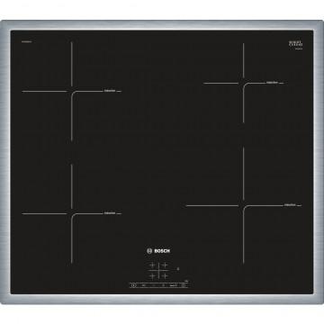 Vestavné spotřebiče - Bosch PIE645BB1E indukční deska s rámečkem nerez, 60 cm, černá