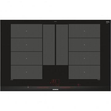 Vestavné spotřebiče - Siemens EX875LYC1E indukční senzorová deska, fazetový design, 80 cm