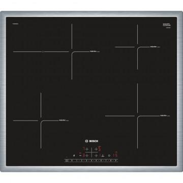Vestavné spotřebiče - Bosch PIF645FB1E indukční varná deska s rámečkem, 60 cm, černá
