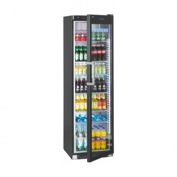 Profesionální chlazení - Liebherr FKDV 4523 prosklená chladnička s ventilátorem, černá