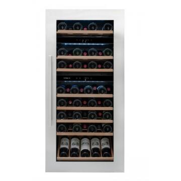 Vestavné spotřebiče - Avintage AVI94X3Z vestavná vinotéka třízónová, 71 lahví, stříbrná