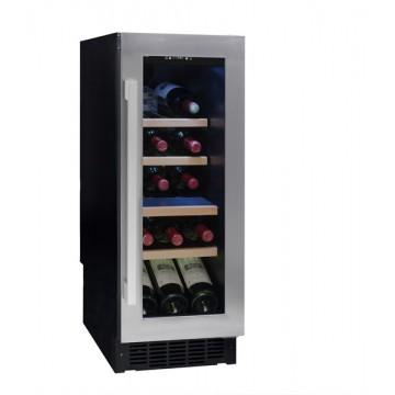 Vestavné spotřebiče - Avintage AVU23SX vinotéka jednozónová, 21 lahví, stříbrná/černá