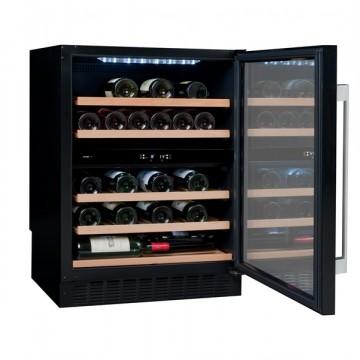 Vestavné spotřebiče - Avintage AVU53CDZA vinotéka dvouzónová, 50 lahví, černá