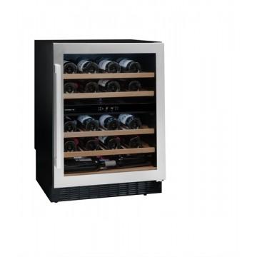 Vestavné spotřebiče - Avintage AVU54SXDZA vinotéka dvouzónová, 50 lahví, stříbrná/černá