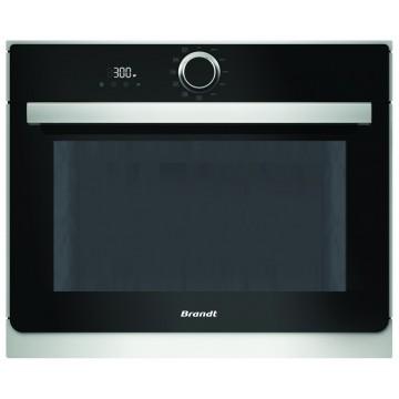 Vestavné spotřebiče - Brandt BKS6135X Vestavná mikrovlnná trouba 40 l, černá/nerez, 4 roky záruka