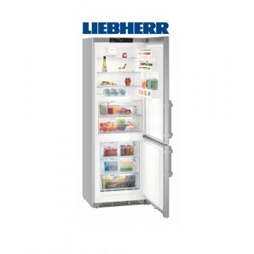 Volně stojící spotřebiče - Liebherr CBNef 5715 kombinovaná chladnička/mraznička, NoFrost, BioFresh, Smart Steel, A+++ - 5 let záruka