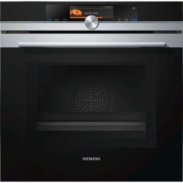 Vestavné spotřebiče - Siemens HN678G4S6 vestavná trouba s mikrovlnami, přidanou párou, nerez