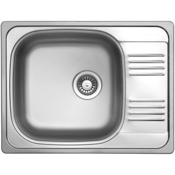 Dřezy - Sinks GRAND 652 V 0,8mm leštěný
