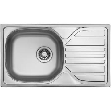 Kuchyňské dřezy - Sinks COMPACT 760 V 0,5mm matný