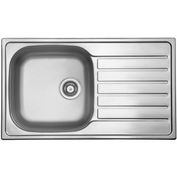 Kuchyňské dřezy - Sinks HYPNOS 860 V 0,8mm leštěný