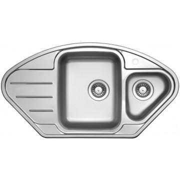 Kuchyňské dřezy - Sinks LOTUS 945.1 V 0,8mm leštěný