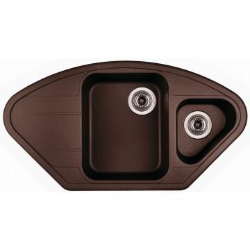 Kuchyňské dřezy - Sinks LOTUS 960.1 Marone