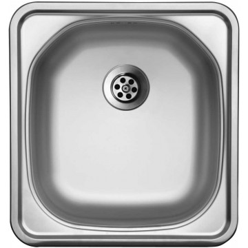 Kuchyňské dřezy - Sinks COMPACT 435 M 0,5mm matný