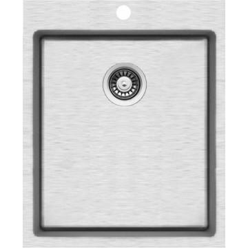 Kuchyňské dřezy - Sinks BLOCKER 440 V 1mm kartáčovaný