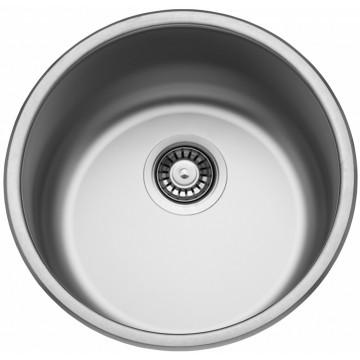 Kuchyňské dřezy - Sinks ROUND 450 V 0,6mm matný