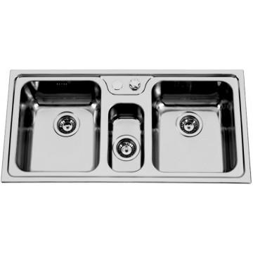 Kuchyňské dřezy - Sinks BETA 1000.1 DUO V 0,7mm leštěný