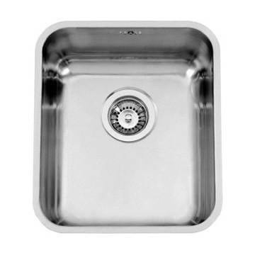 Kuchyňské dřezy - Sinks BRASILIA 380 V 0,7mm trojmontáž leštěný