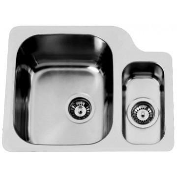 Kuchyňské dřezy - Sinks DUO 571.1 V 1,0mm levý leštěný