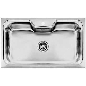 Kuchyňské dřezy - Sinks BIG 860 V 1,0mm leštěný