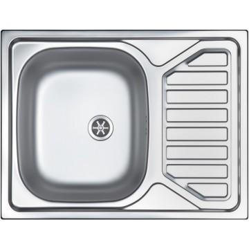 Kuchyňské dřezy - Sinks OKIO 650 V 0,6mm leštěný