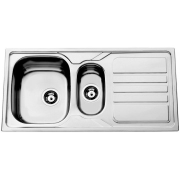 Kuchyňské dřezy - Sinks OKIO 1000.1 V 0,6mm matný