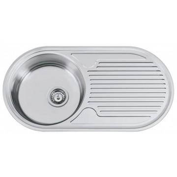 Kuchyňské dřezy - Sinks SEMIDUETO 847 V 0,6mm matný