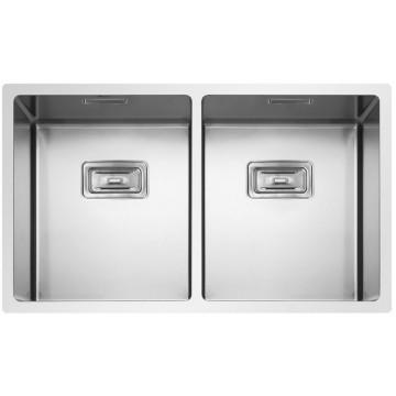 Kuchyňské dřezy - Sinks BOX 755 DUO FI 1,0mm