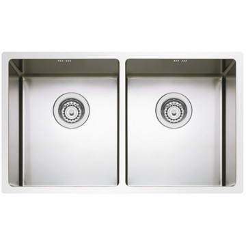 Kuchyňské dřezy - Sinks BOX 755 DUO RO 1,0mm