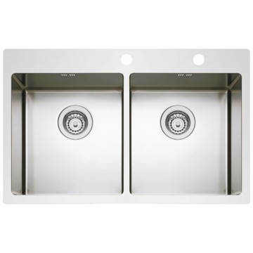 Kuchyňské dřezy - Sinks BOXER 755 DUO RO 1,2mm