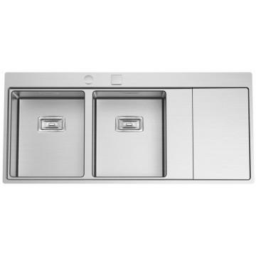 Kuchyňské dřezy - Sinks XERON 1160 DUO levý 1,2mm