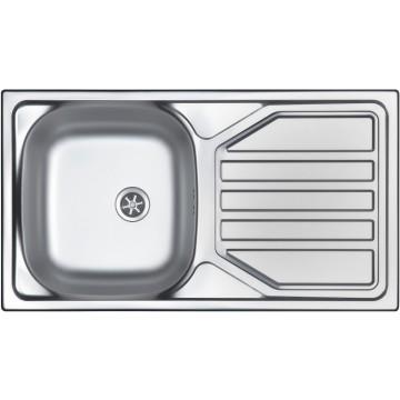 Kuchyňské dřezy - Sinks OKIO 780 V 0,5mm leštěný