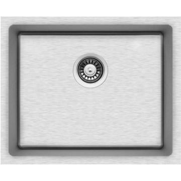 Kuchyňské dřezy - Sinks BLOCK 540 V 1mm kartáčovaný