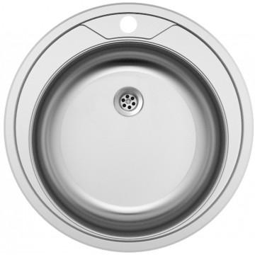 Dřezy - Sinks ROUND 510 M 0,6mm matný