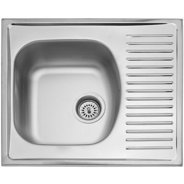 Kuchyňské dřezy - Sinks SHORT 580 V 0,5mm matný